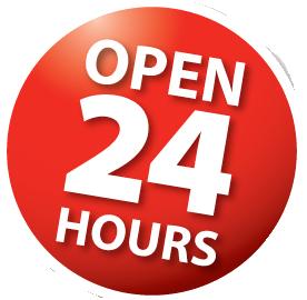 24 hours everyday